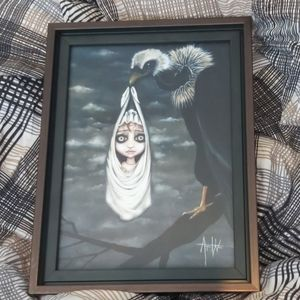 Gothic canvas print framed